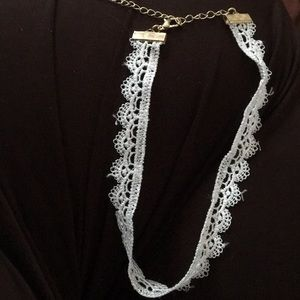 Forever 21 lace choker